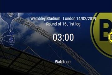 Kèo bóng đá Cúp C1 đêm nay: Tottenham vs Dortmund