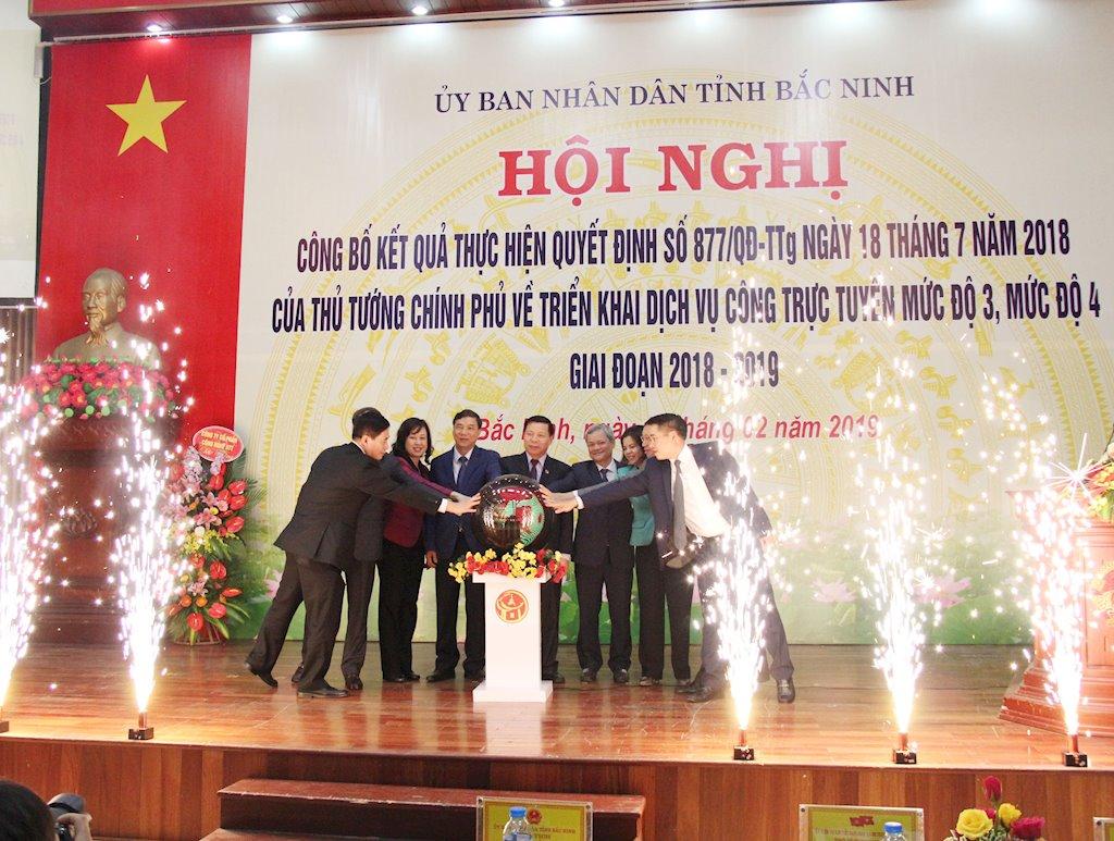 Bắc Ninh ra mắt Cổng dịch vụ trực tuyến tích hợp hệ thống một cửa dùng chung toàn tỉnh |Cổng dịch vụ công trực tuyến Bắc Ninh tích hợp nhiều giải pháp hỗ trợ người dân, doanh nghiệp