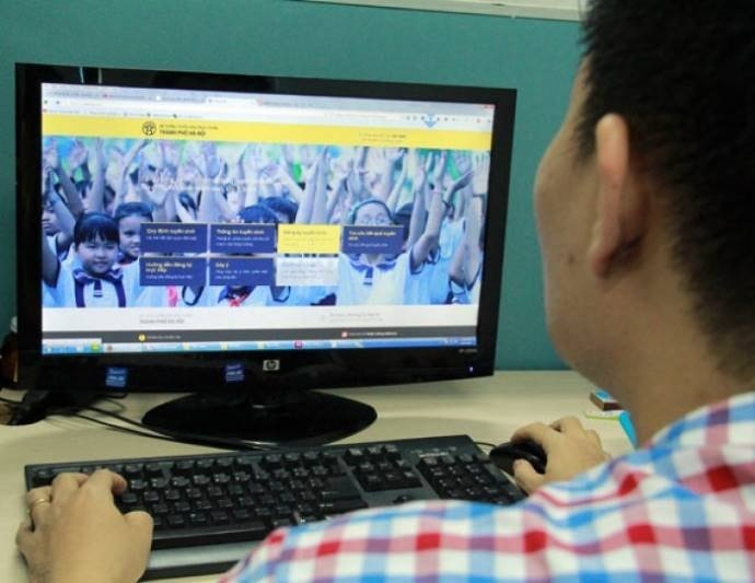 Năm học 2019-2020, Hà Nội tiếp tục xét tuyển trực tuyến vào mầm non, lớp 1, lớp 6 | Hà Nội tiếp tục áp dụng phương thức xét tuyển trực tuyến vào mầm non, lớp 1, lớp 6