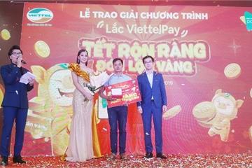 Lộ diện chủ nhân trúng thưởng 1kg vàng của ViettelPay