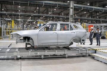 Xe SUV VinFast Lux SA 2.0 có thể lăn bánh chạy thử tại Việt Nam vào tháng 3 tới