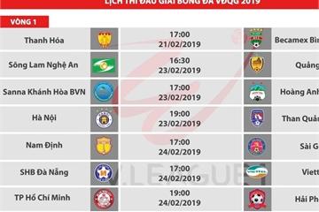 Địa chỉ xem V.League 2019 trực tiếp trên mạng