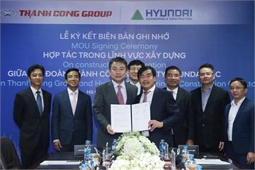 Không chỉ sản xuất ô tô, Thành Công và Hyundai nhảy sang lĩnh vực xây dựng