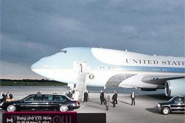 Trực tiếp: Đón Tổng thống Mỹ Donald Trump đến Hà Nội