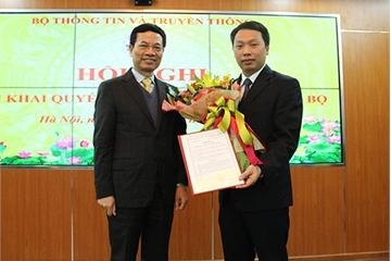 Ông Nguyễn Huy Dũng được giao phụ trách điều hành Cục An toàn thông tin
