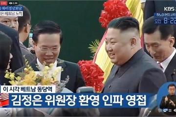 Hình ảnh đầu tiên của ông Kim Jong-un tại Lạng Sơn, Việt Nam