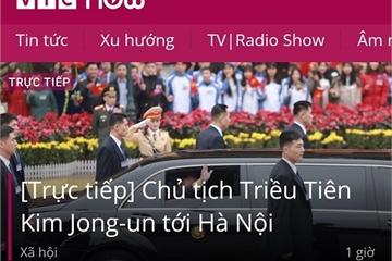 Địa chỉ xem trực tiếp các sự kiện Hội nghị thượng đỉnh Mỹ - Triều Tiên