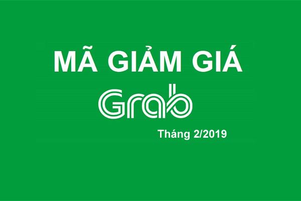 Mã giảm giá Grab, GrabBike, GrabCar khuyến mãi tháng 2/2019