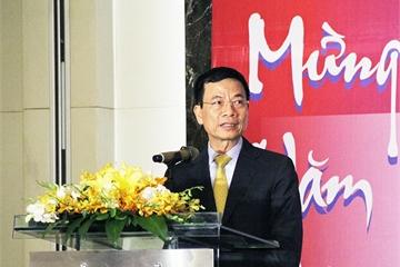 """Bộ trưởng Nguyễn Mạnh Hùng: """"Phải thay đổi tư duy để không chỉ lắp ráp, gia công sản phẩm công nghệ nước ngoài"""""""