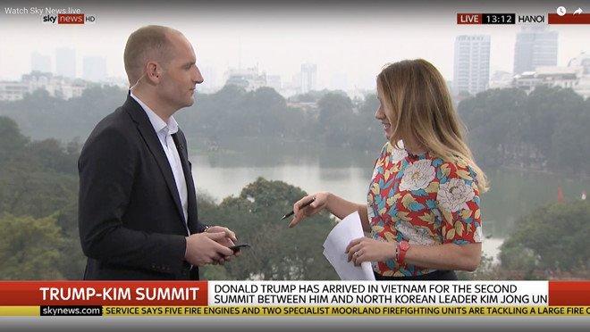 """Chạy đua đưa tin Thượng đỉnh Mỹ Triều: Truyền hình Việt """"lép vế"""" so với các đài quốc tế"""