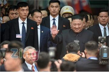 Chủ tịch Kim Jong Un bắt đầu chuyến thăm chính thức Việt Nam