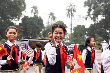 Nhà Trắng ghi lại hình ảnh người Việt hồ hởi chào đón thượng đỉnh Mỹ - Triều