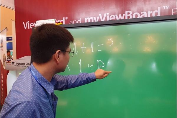ViewSonic giới thiệu màn hình tương tác và ứng dụng giảng dạy tại triển lãm Bess Việt Nam