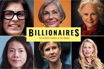 9/10 nữ tỷ phú giàu nhất thế giới 2019 là nhờ tài sản thừa kế