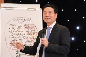 """Bộ trưởng Nguyễn Mạnh Hùng: """"Phải nghĩ lớn để Việt Nam trở thành cường quốc"""""""