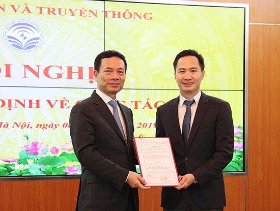 Bộ TT&TT bổ nhiệm ông Nguyễn Thiện Nghĩa làm Phó Vụ trưởng Vụ CNTT