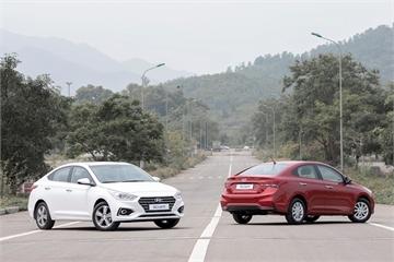 Hyundai cán mốc trên 63.000 xe bán ra, doanh số Accent, Santa Fe gây áp lực lên các đối thủ