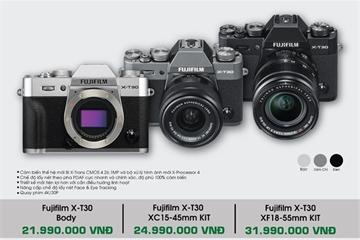 Fujifilm giảm nửa giá hai ống kính XF23mm và XF50mm khi mua X-T30