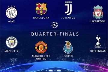 Xem bốc thăm tứ kết Champions League 2019 trực tiếp ở đâu?