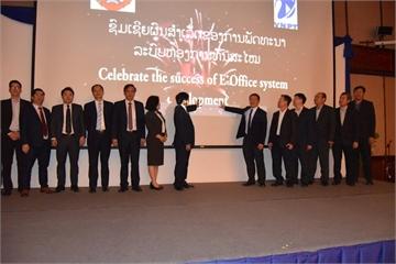 """Sếp VNPT: """"Giải pháp số E-Office sẽ tạo nền tảng cho việc triển khai chính phủ số tại Lào"""""""