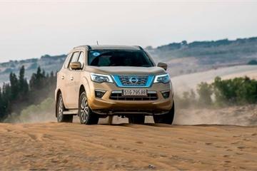 Nissan Terra đột ngột giảm giá, cạnh tranh Toyota Fortuner và Ford Everest
