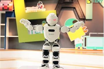 Robot giáo dục Alpha 1E sẽ đồng hành cùng học sinh dự Trại hè Công nghệ 2019
