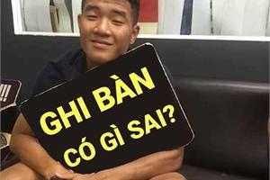 Ảnh chế Đức Chinh 'đã không còn đen' sau trận thắng U23 Thái Lan 4-0