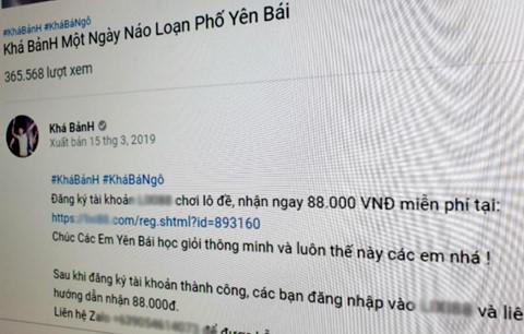 Kha Banh dot xe - dung duong quang cao ban, YouTube co pham luat? hinh anh 1