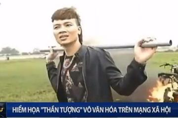 """Khá """"bảnh"""" lên bản tin Thời sự VTV: Hiểm họa """"thần tượng"""" vô văn hóa trên MXH"""