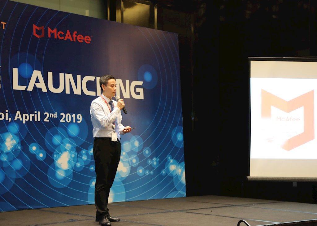 Vietnet trở thành nhà phân phối giải pháp của McAfee tại Việt Nam | McAfee ra mắt nhà phân phối chính thức tại Việt Nam | McAfee giới thiệu gói giải pháp mới McAfee MVISION