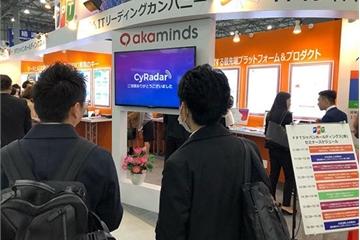 CyRadar mang giải pháp an toàn thông tin ứng dụng AI giới thiệu tại Nhật Bản
