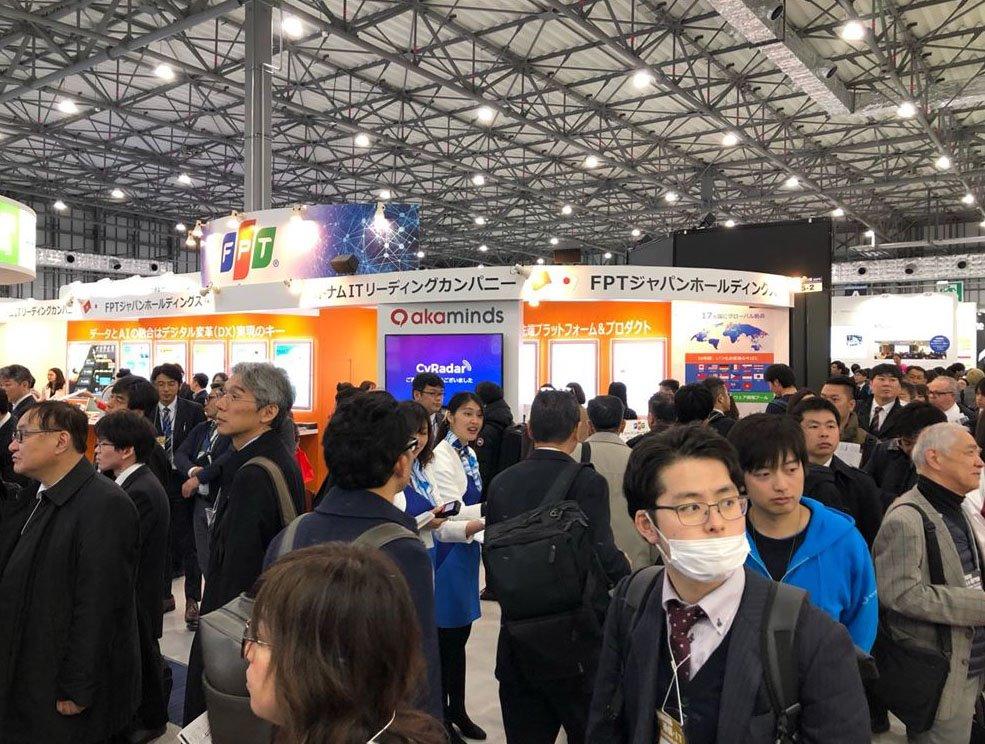 CyRadar dự Triển lãm về trí tuệ nhân tạo lớn nhất Nhật Bản AI Expo Tokyo 2019 | CyRadar mang giải pháp an toàn thông tin ứng dụng AI giới thiệu tại Nhật Bản | CyRadar ra mắt công cụ miễn phí sử dụng AI hỗ trợ phân tích một website có phải là Phishing