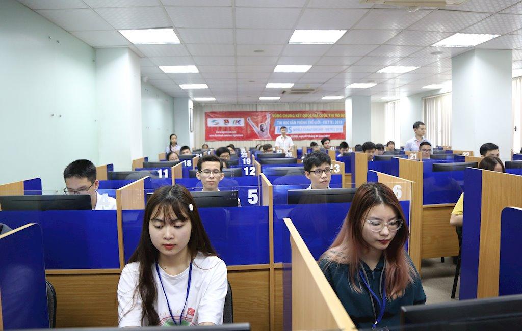 120 thí sinh đua tranh 3 suất sang Mỹ thi Chung kết thế giới Tin học Văn phòng 2019