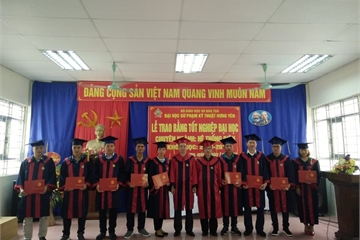 Mã ngành trường Đại học Sư phạm Kỹ thuật Hưng Yên 2019