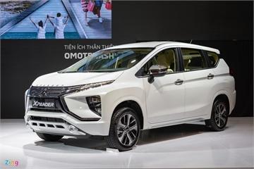 Mitsubishi Xpander bất ngờ đạt doanh số hơn 1.800 xe, gấp 4 lần Toyota Rush và Avanza