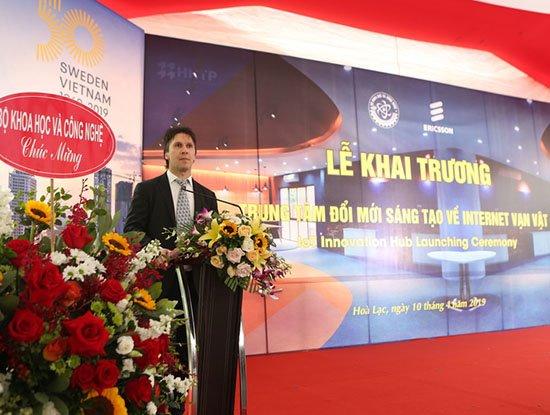 Ericsson: Dựa trên nền tảng IoT, các bạn trẻ Việt Nam sẽ là những người tạo ra việc làm