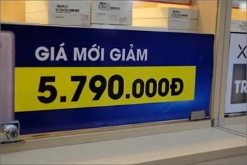 Hàng loạt siêu thị tung hàng giảm giá dịp lễ