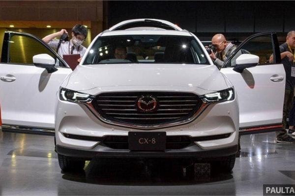 Mazda CX-8 có giá bán dự kiến 1,15 tỷ đồng tại Việt Nam, đại lý bắt đầu nhận đặt cọc
