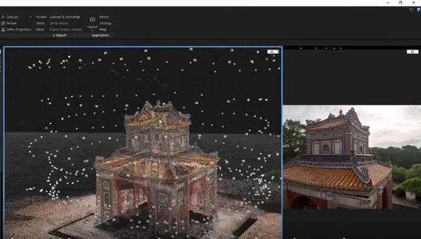 Lăng Tự Đức ở Huế được số hóa và lưu trữ dưới dạng 3D