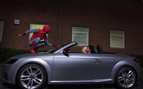 Nhung sieu xe da xuat hien cung sieu anh hung Marvel sau 11 nam hinh anh 10