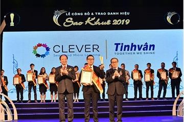 Công ty Công nghệ Tinh Vân lần thứ 24 có sản phẩm đạt danh hiệu Sao Khuê