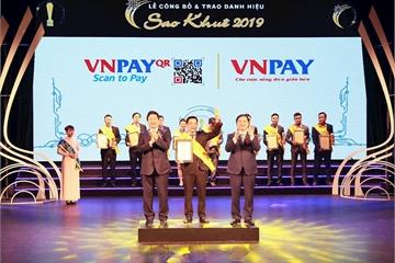 VNPAY xuất sắc được vinh danh trong TOP 10 danh hiệu Sao Khuê 2019