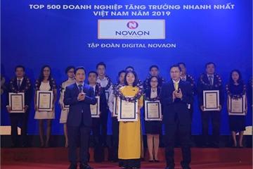 NOVAON đạt Top 32 trong 500 doanh nghiệp tăng trưởng nhanh nhất Việt Nam