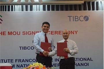 Công ty phần mềm Mỹ TIBCO sẽ hỗ trợ đào tạo kỹ năng cho sinh viên CNTT tại Việt Nam