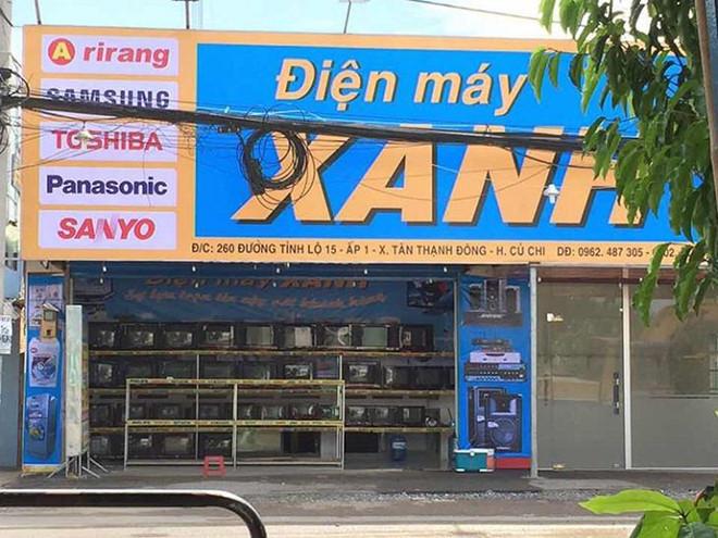 Gia Nguyen Kim, Dien May Xanh quang cao sua may lanh tren Google hinh anh 2