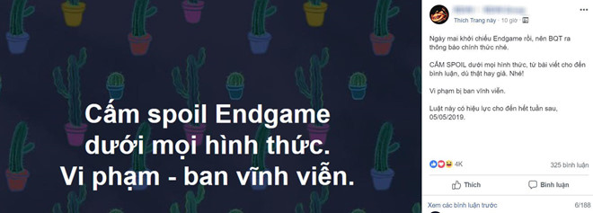 Muon tranh bi tiet lo Avengers: Endgame, chi co cach tat Facebook hinh anh 1