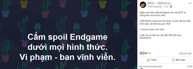 Muốn tránh bị tiết lộ Avengers: Endgame, chỉ có cách tắt Facebook