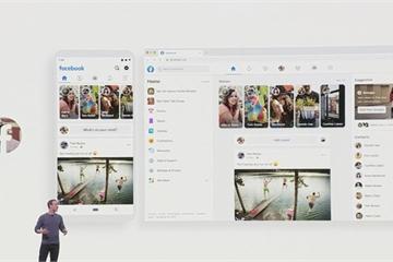 Facebook công bố giao diện hoàn toàn mới: Có Dark Mode, tập trung vào nhóm
