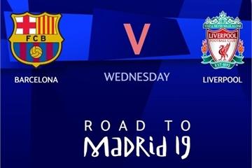 Kèo bóng đá C1 hôm nay: Barcelona vs Liverpool, bán kết lượt đi Champions League 2019