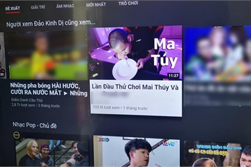 Sau Khá Bảnh, YouTube VN lại xuất hiện video hướng dẫn chơi ma túy